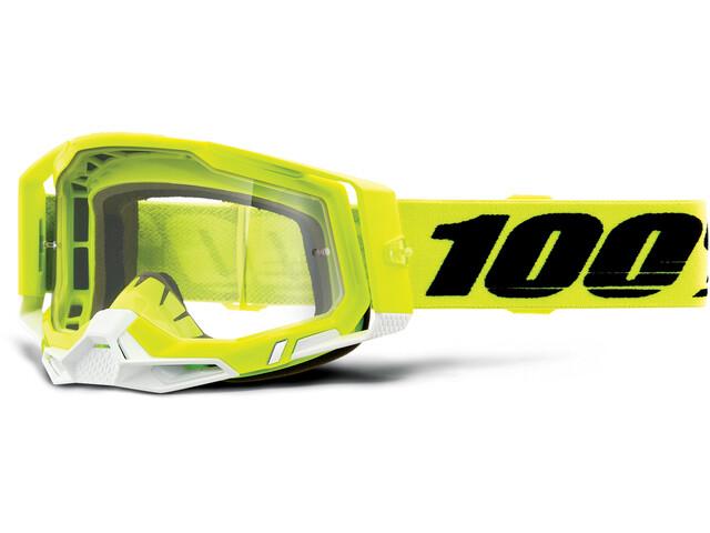 100% Racecraft Anti-Fog Goggles Gen2, amarillo